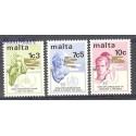 Malta 1973 Mi 475-477 Czyste **
