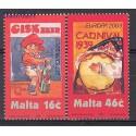 Malta 2003 Mi 1274-1275 Czyste **