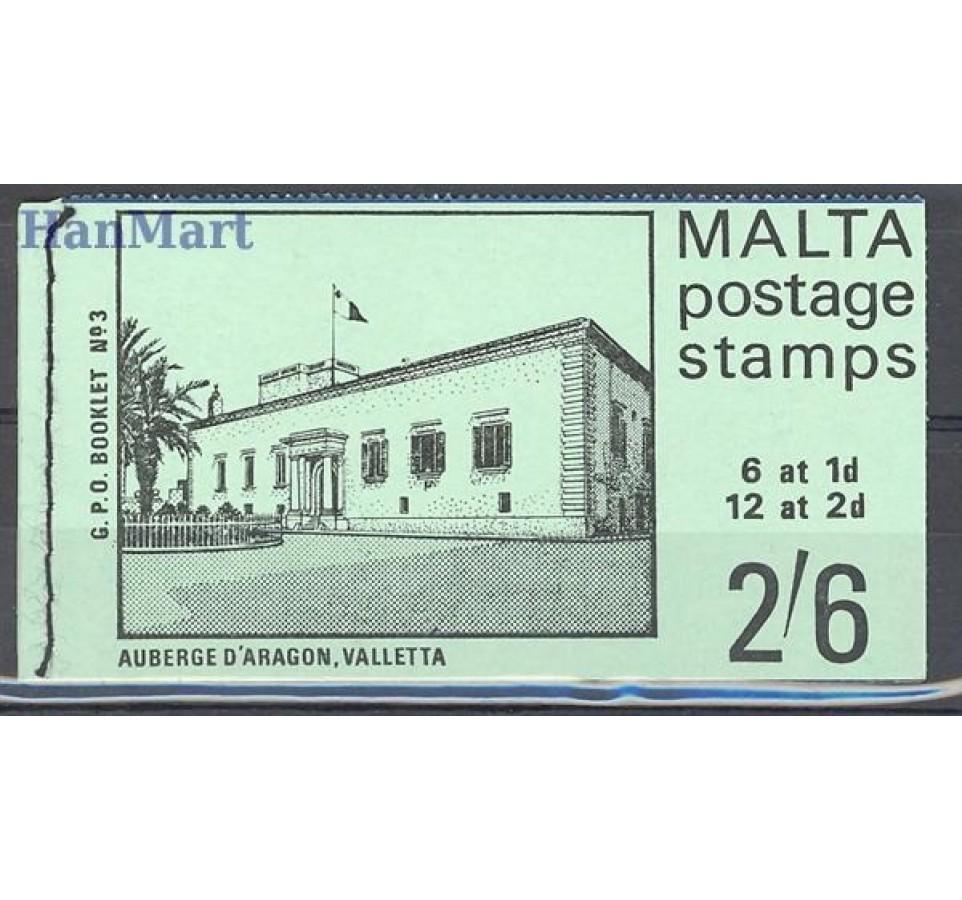 Malta 1965 Mi mh O-1III Czyste **