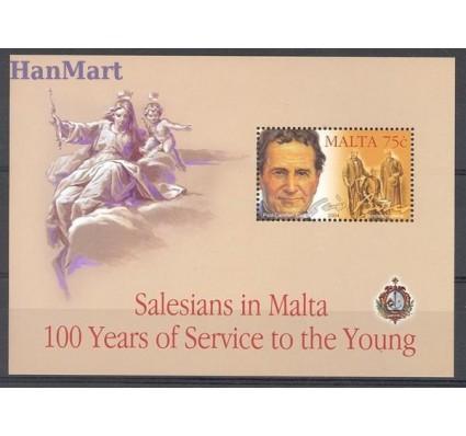 Znaczek Malta 2004 Mi bl 26 Czyste **