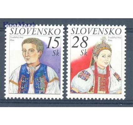Znaczek Słowacja 2004 Mi 482-483 Czyste **