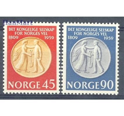 Norwegia 1959 Mi 434-435 Czyste **