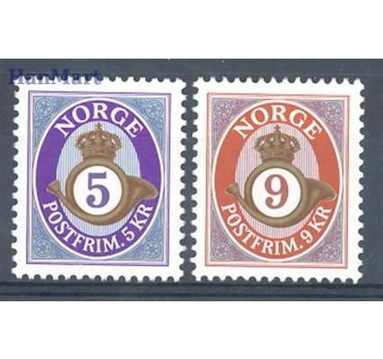 Norwegia 2002 Mi 1415-1416 Czyste **