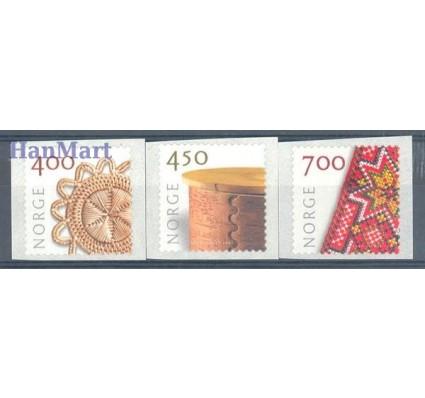 Norwegia 2001 Mi 1368-1370 Czyste **