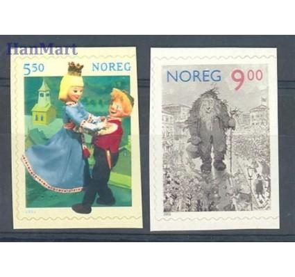 Norwegia 2002 Mi 1432-1433Dr Czyste **