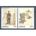 Norwegia 2005 Mi 1520-1521 Czyste **