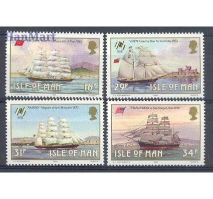 Znaczek Wyspa Man 1988 Mi 371-374 Czyste **