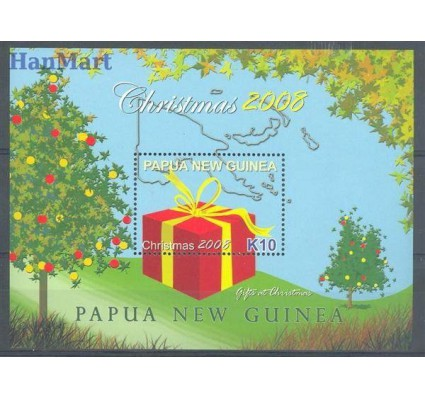 Znaczek Papua Nowa Gwinea 2008 Mi bl 74 Czyste **