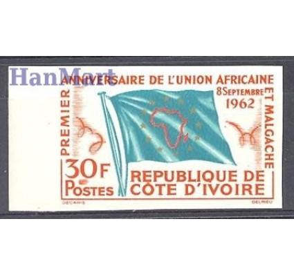 Wybrzeże Kości Słoniowej 1962 Czyste **