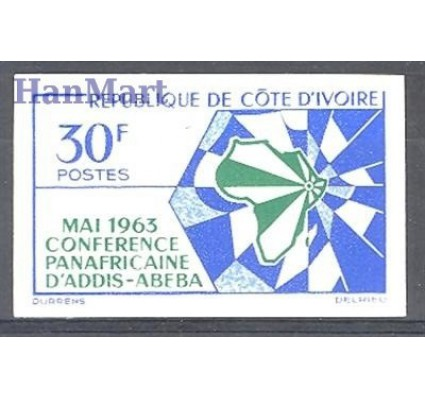 Wybrzeże Kości Słoniowej 1963 Czyste **