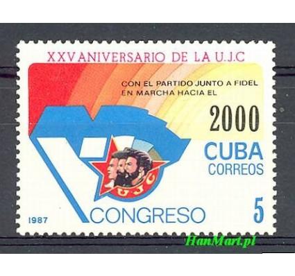Znaczek Kuba 1987 Mi 3083 Czyste **
