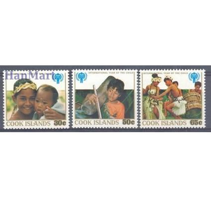 Wyspy Cooka 1979 Mi 618-620 Czyste **