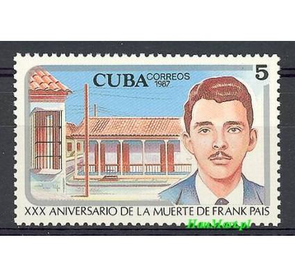 Znaczek Kuba 1987 Mi 3115 Czyste **