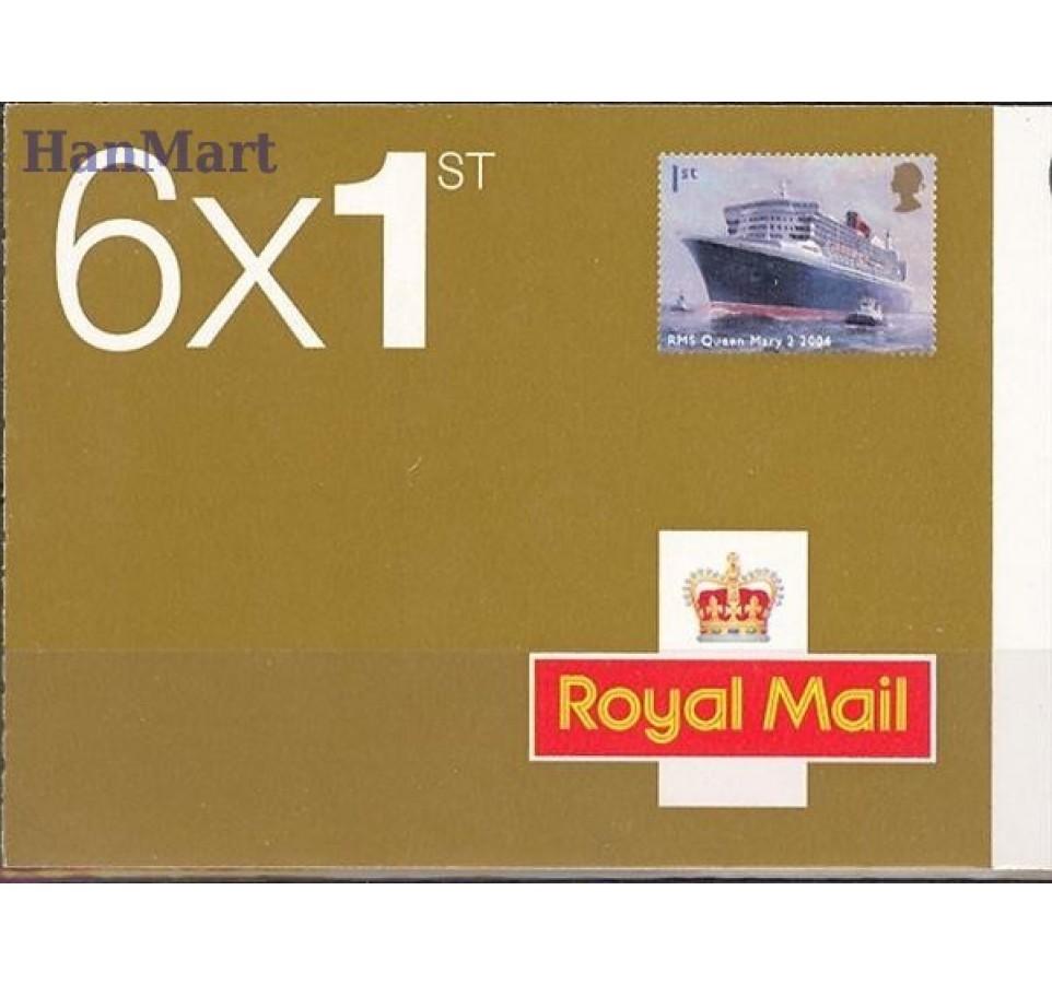 Wielka Brytania 2004 Mi mh O-284 Czyste **