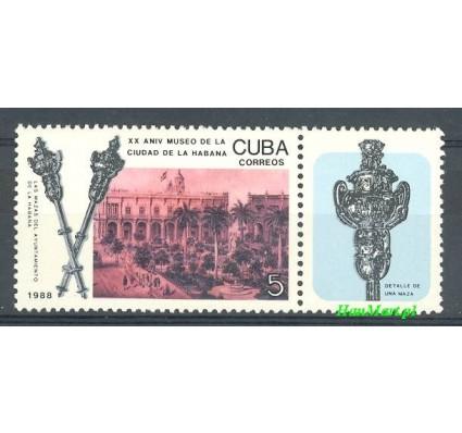 Znaczek Kuba 1988 Mi 3247 Czyste **