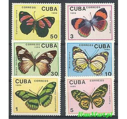 Znaczek Kuba 1989 Mi 3265-3270 Czyste **