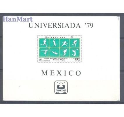 Meksyk 1979 Mi bl 25 Czyste **