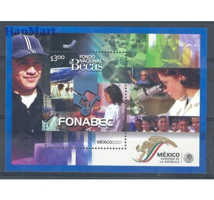 Meksyk 2001 Mi bl 63 Czyste **