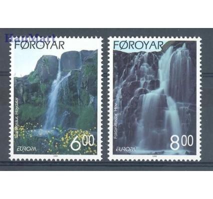 Znaczek Wyspy Owcze 1999 Mi 354-355 Czyste **