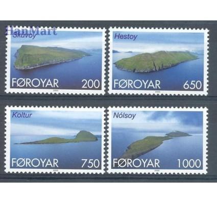 Wyspy Owcze 2000 Mi 381-384 Czyste **