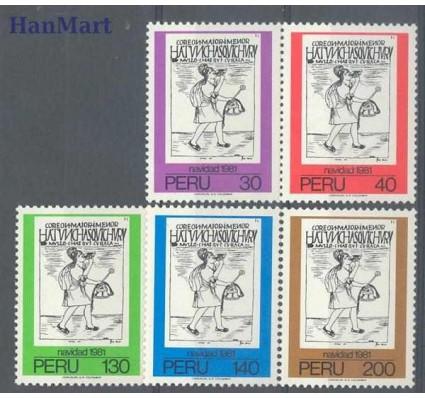 Peru 1981 Mi 1199-1203 Czyste **