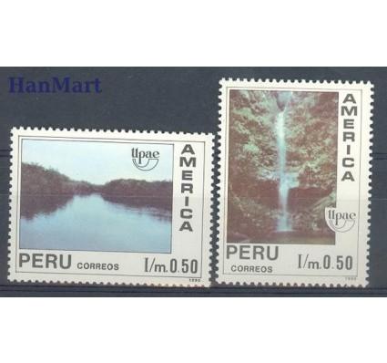 Peru 1991 Mi 1454-1455 Czyste **