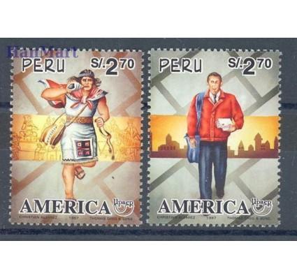Znaczek Peru 1997 Mi 1605-1606 Czyste **