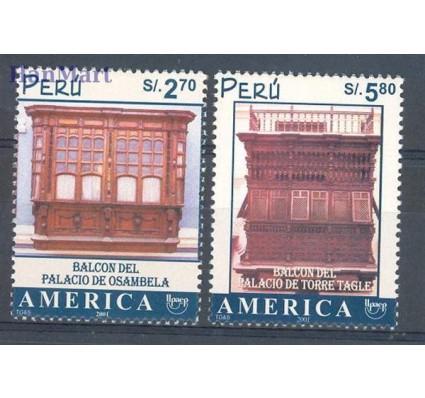 Peru 2002 Mi 1807-1808 Czyste **