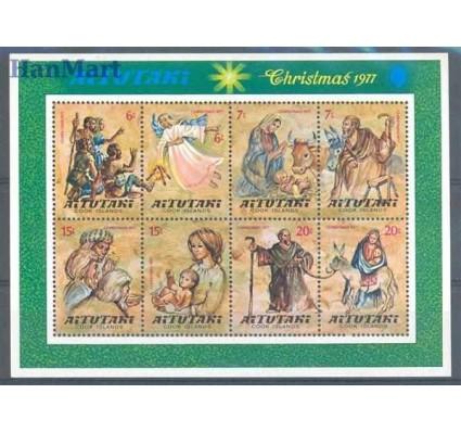 Aitutaki 1977 Mi bl 16 Czyste **