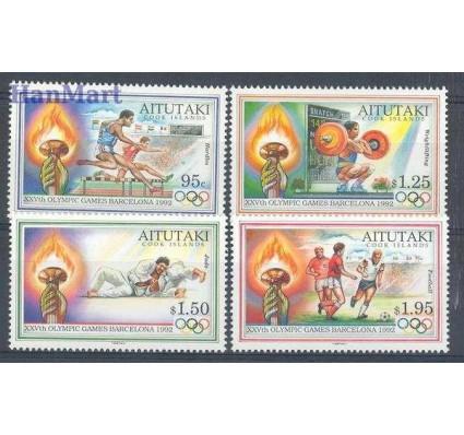 Znaczek Aitutaki 1992 Mi 683-686 Czyste **