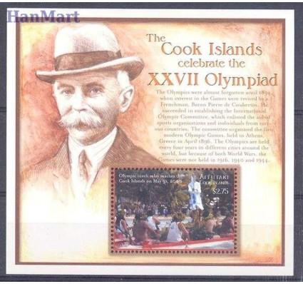 Znaczek Aitutaki 2000 Mi bl 84 Czyste **