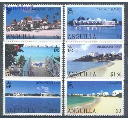 Anguilla 2003 Mi 1138-1143 Czyste **