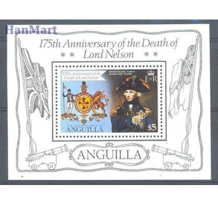 Anguilla 1981 Mi bl 36 Czyste **