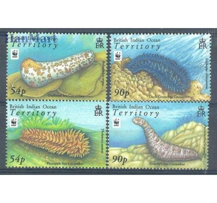 Znaczek Brytyjskie Terytorium Oceanu Indyjskiego 2008 Mi 470-473 Czyste **