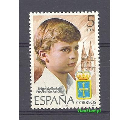 Znaczek Hiszpania 1977 Mi 2341 Czyste **