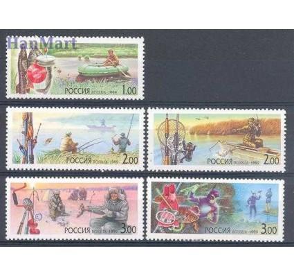 Znaczek Rosja 1999 Mi 716-720 Czyste **
