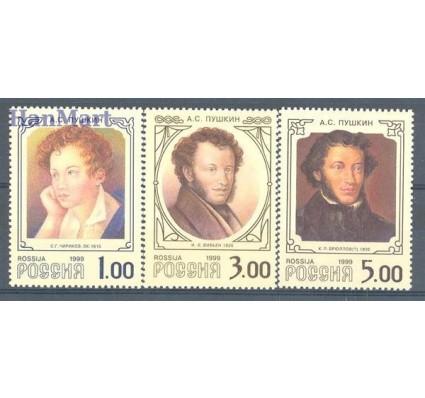 Znaczek Rosja 1999 Mi 725-727 Czyste **