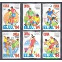Kuba 1994 Mi 3723-3728 Czyste **