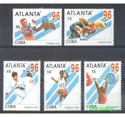 Znaczek Kuba 1996 Mi 3899-3903 Czyste **