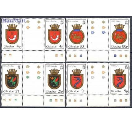 Gibraltar 1985 Mi 493-496 Czyste **