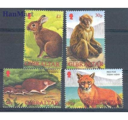 Gibraltar 2002 Mi 1010-1013 Czyste **