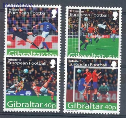 Gibraltar 2004 Mi 1083-1086 Czyste **