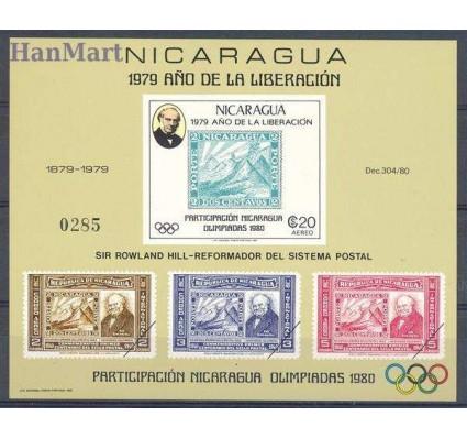 Znaczek Nikaragua 1980 Mi bl 112 Czyste **