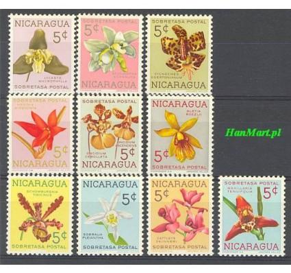 Znaczek Nikaragua 1962 Mi zwa 61-70 Czyste **