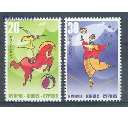Cypr  2002 Mi 990-991 Czyste **