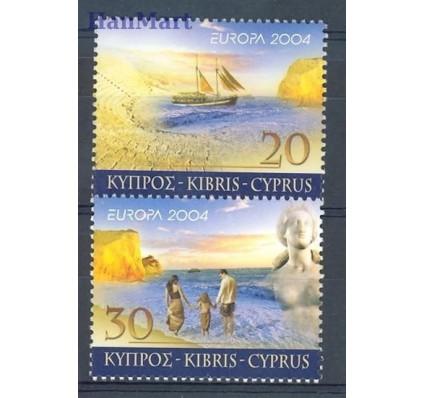 Znaczek Cypr  2004 Mi 1035-1036 Czyste **