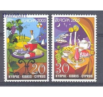 Znaczek Cypr  2005 Mi 1056-1057 Czyste **