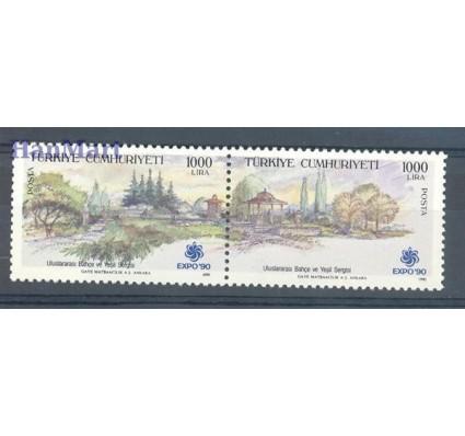 Znaczek Turcja 1990 Mi 2878-2879 Czyste **