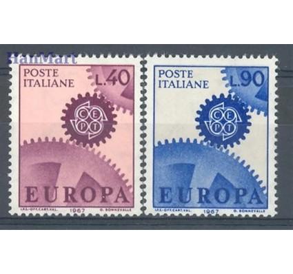 Znaczek Włochy 1967 Mi 1224-1225 Czyste **