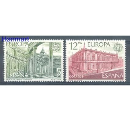 Znaczek Hiszpania 1978 Mi 2366-2367 Czyste **
